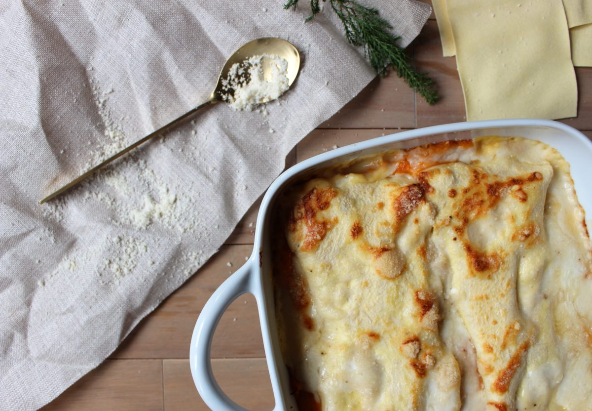 Lasagnes Saumon / Patate douce