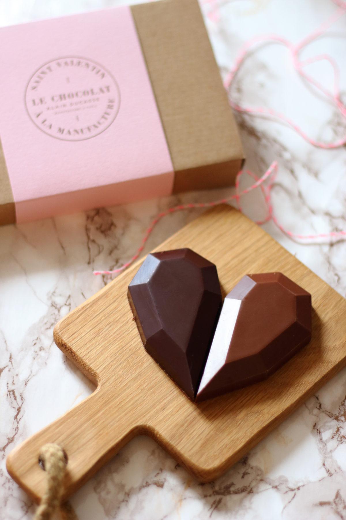 Un cœur à partager par Le Chocolat Alain Ducasse