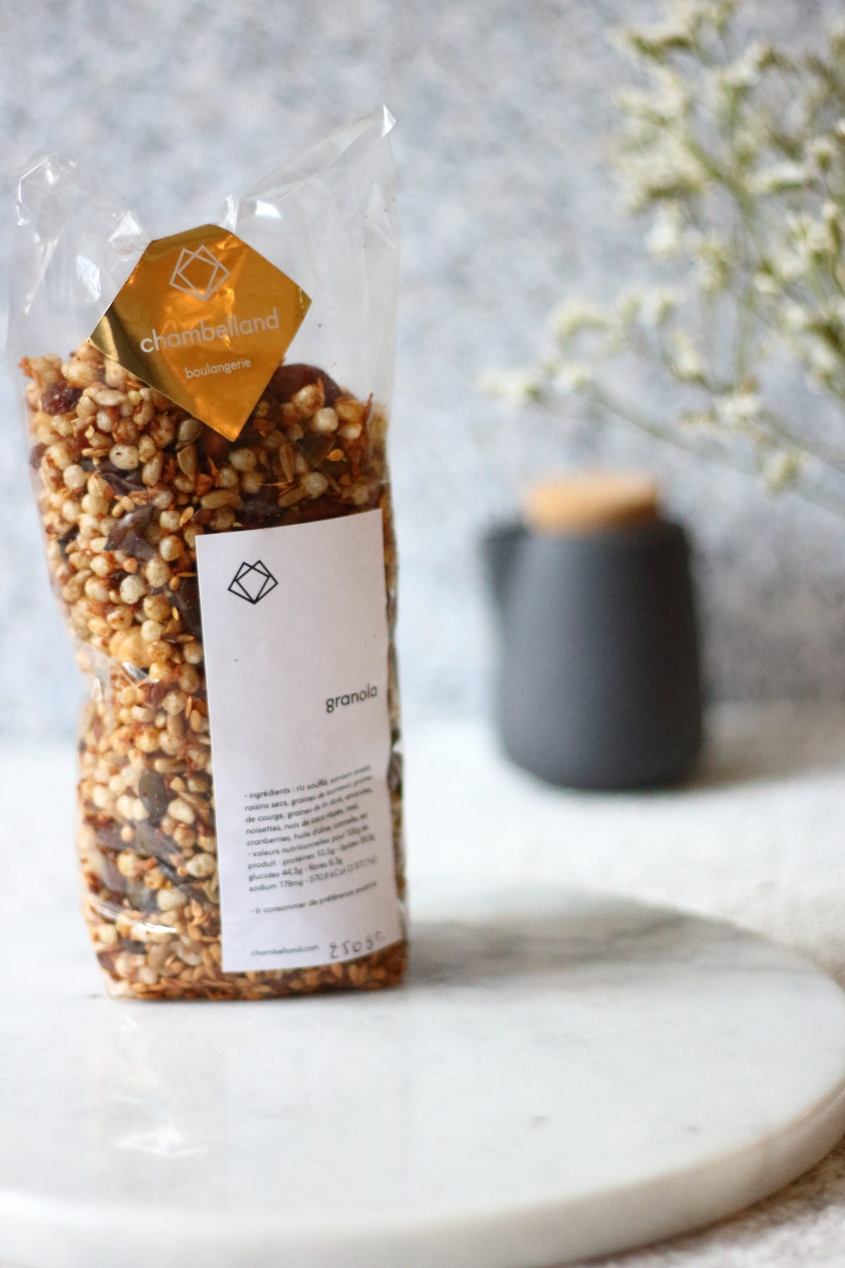 Chambelland the best gluten free Granola in Paris