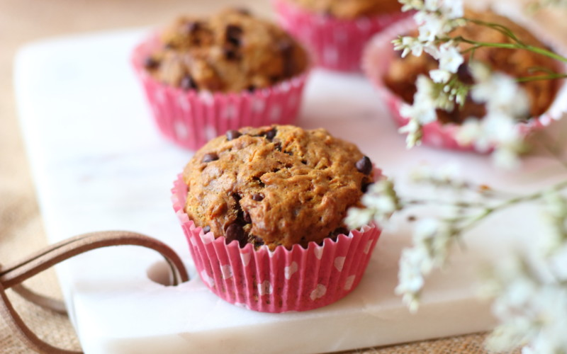 muffins potimarron vegan