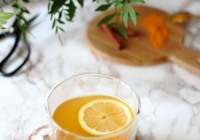 ginger tumeric and cinnamon detox infusion