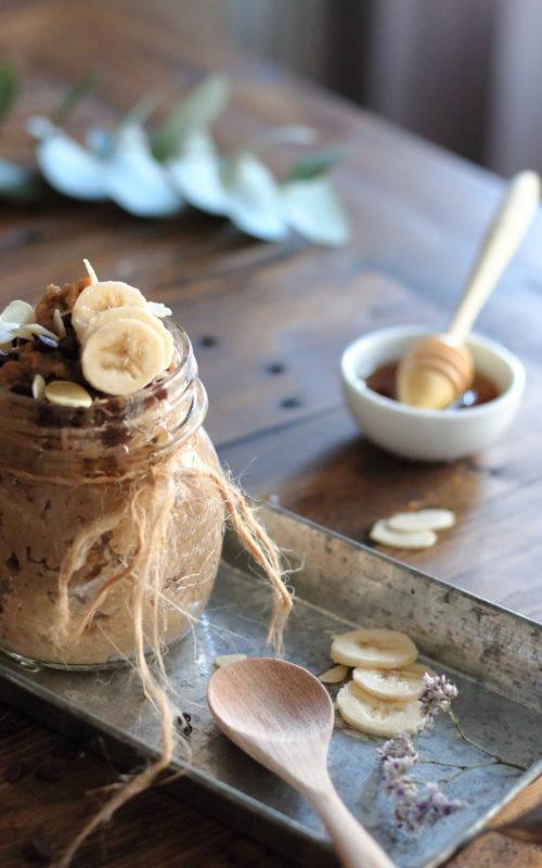 creamy coffee oatmeal