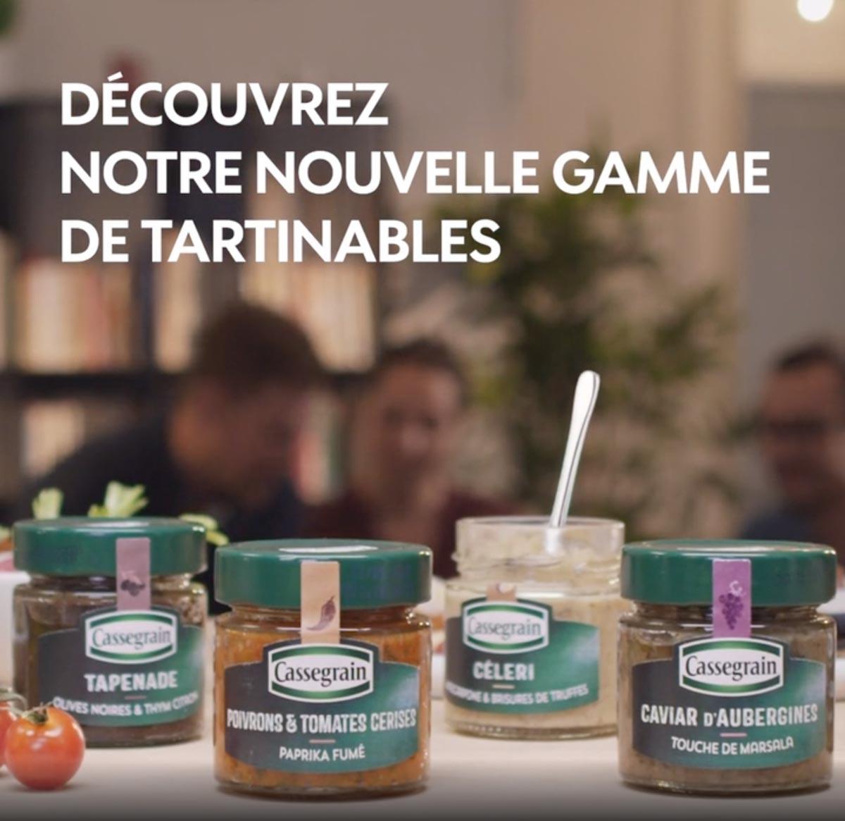 Cassegrain – Les tartinables