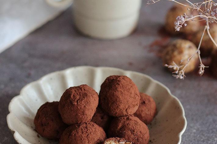Tahini Energy protein balls