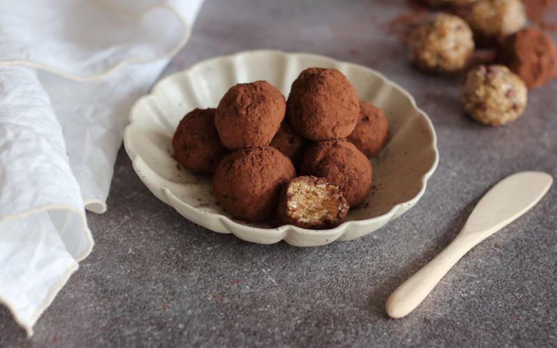 tahini protein energy balls